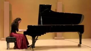Alexandra Gorlin-Crenshaw: G.F. Handel Suite in E minor, HWV 429. II. Allemande
