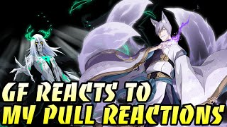 My Best Summons ... Girlfriend Reacts To My Derpface - Bleach Brave Souls Summons