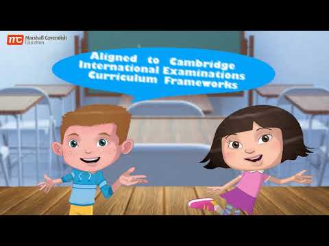 New Primary Series by Marshall Cavendish for Cambridge Primary Mathematics and Science