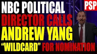 Andrew Yang Biggest THREAT To Bernie Sanders according to NBC News Political Director