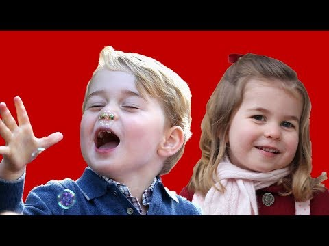 Prince George and Princess Charlotte's cutest moments
