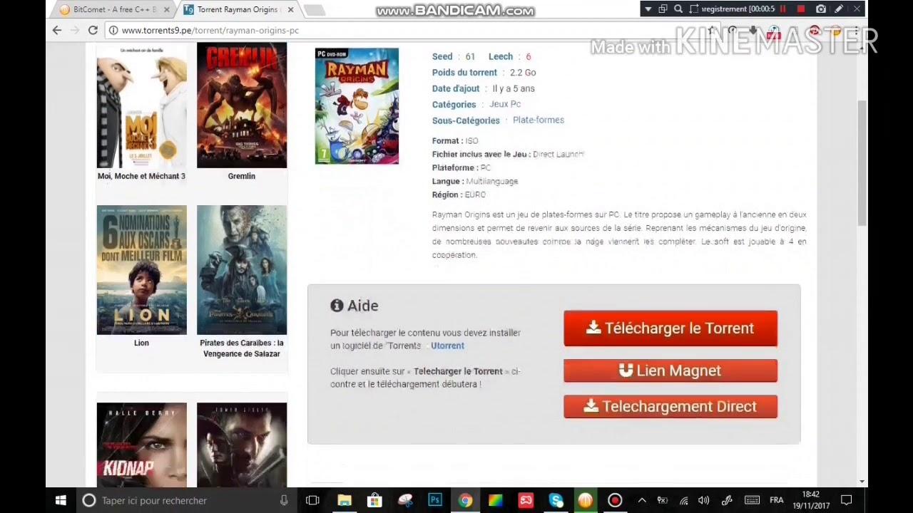 films gratuitement avec bitcomet