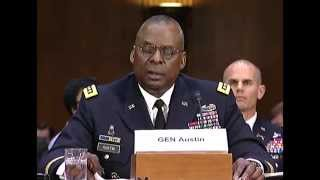 U.S. military operations to counter ISIL Hearing: Gen. Lloyd Austin III Opening Testimony