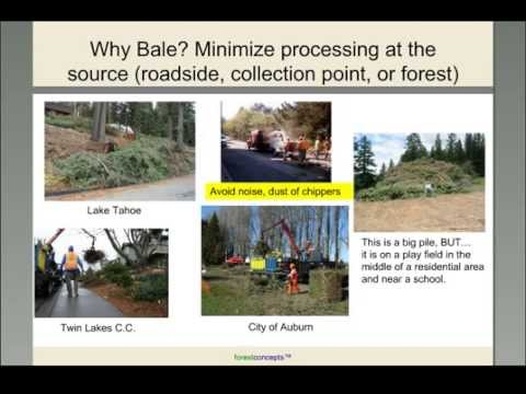 Northeast Bioenergy Webinars – High-Density Biomass Baling