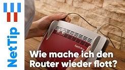 Mit WLAN verbunden aber kein Internet | Router neu starten leicht gemacht