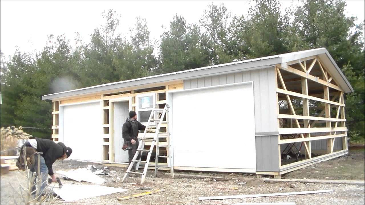Restore All LLC - Post Frame Construction Garage - Ste. Marie IL ...