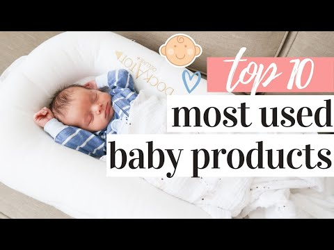 NEWBORN ESSENTIALS 2020 | OUR TOP 10 MOST USED BABY PRODUCTS FOR A 1 MONTH OLD