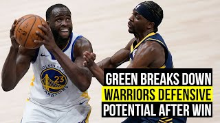 Green breaks down the Warriors' defensive potential player by player