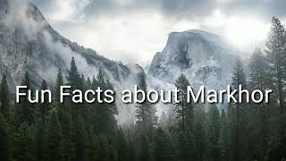 National animal of pakistan markhor/ Facts about National Animal Markhor/Main Biology Concepts