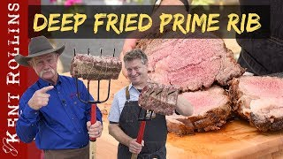 Deep Fried Prime Rib | Pitchfork Rib Fondue