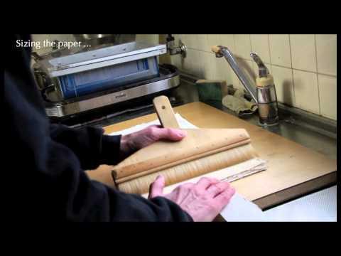 Chibi Heroes woodblock print production