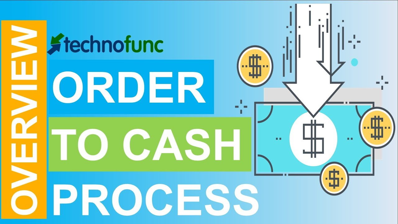 introduction to order to cash process [ 1280 x 720 Pixel ]