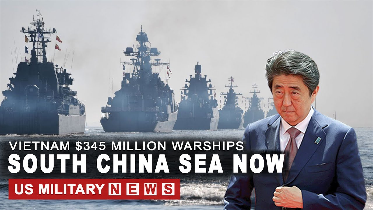 Japan and Vietnam Send $345 Million Warships to South China Sea