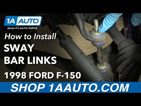 How To Replace Front Sway Bar Links 80-03 Ford F-150