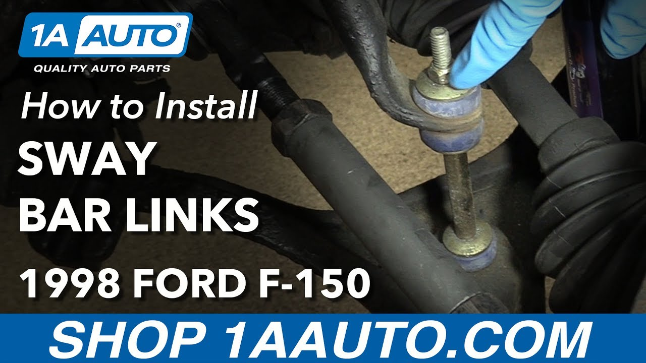How To Install Replace Front Sway Bar Links 198003 Ford F150 Youtube. How To Install Replace Front Sway Bar Links 198003 Ford F150. Ford. 1998 Ford Explorer Sway Bar Diagram At Scoala.co