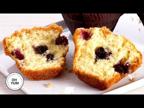 Classic Streusel Blueberry Muffins   Bake with Anna Olson
