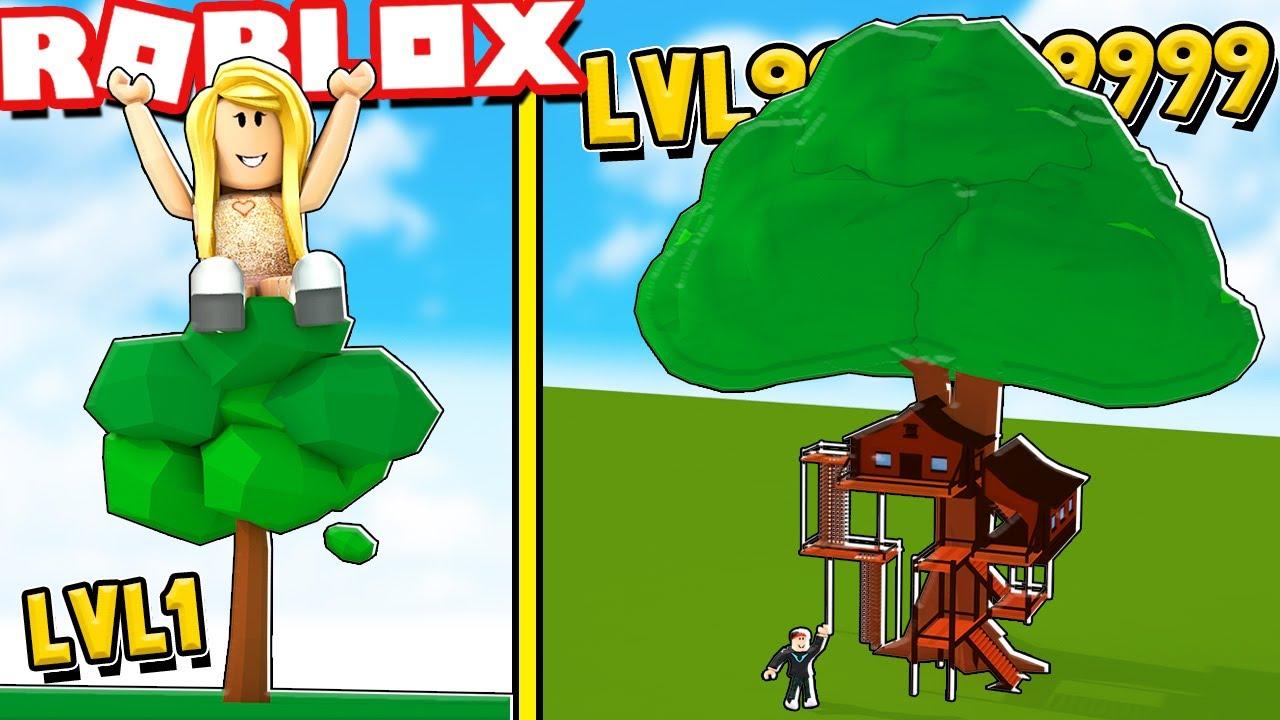 BUDUJEMY NAJWIĘKSZY DOMEK NA DRZEWIE W ROBLOX! (Roblox Treehouse Tycoon) | Vito i Bella