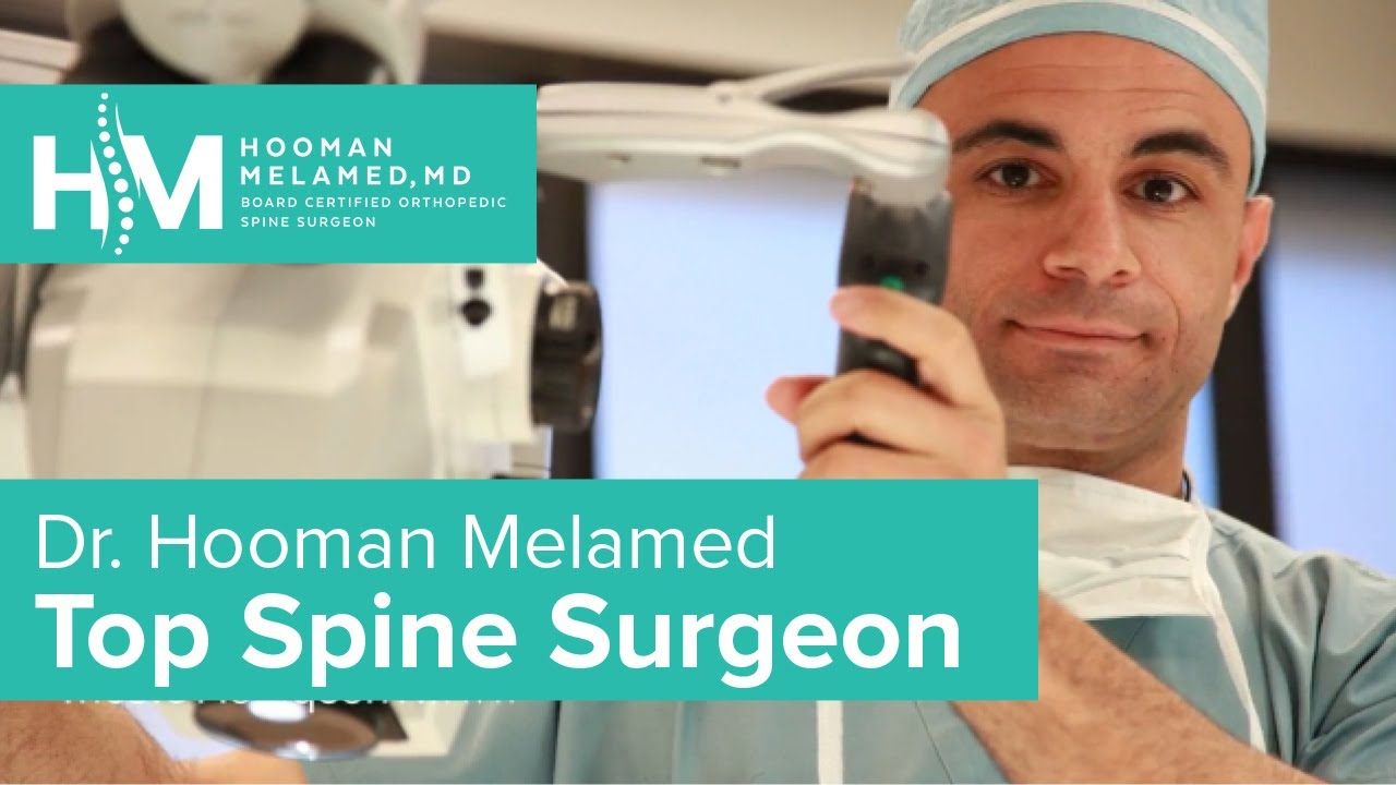 Minimally invasive spine and neck surgery (310) 340-2024 -- LOS ...
