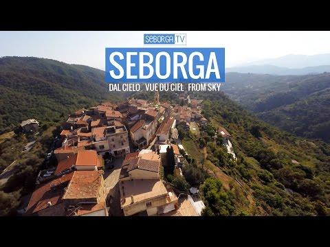 Seborga vista dal cielo / vue du ciel / from the sky