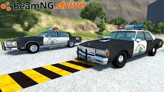 BeamNG.drive - COP DRAG RACE