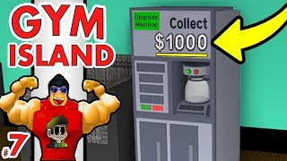 FREE MONEY in Roblox!!! | Gym Island Coffee Machines #7