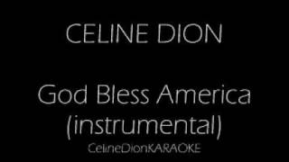 God Bless America KARAOKE/INSTRUMENTAL