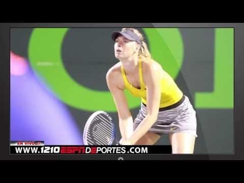 EL Beto Ferreiro y Maria Sharapova en el Sony Open