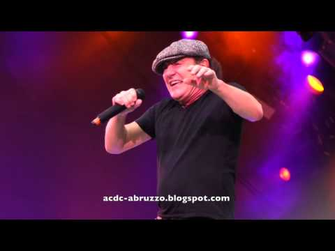 AC/DC ACDC PLAY BALL Live at AVIVA Stadium, Dublin, Ireland 1 July  2015
