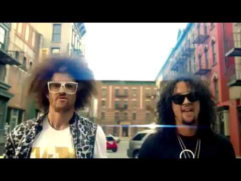 Party Rock Anthem but it's 8 different songs at 130 bpm