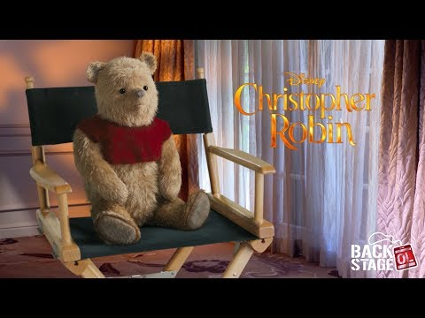 Christopher Robin Interview with Winnie the Pooh, Eeyore, Tigger & Piglet