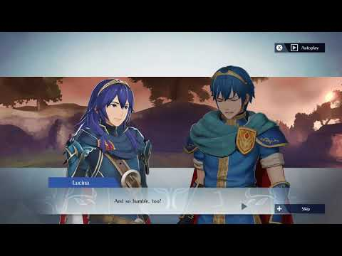 Fire Emblem Warriors  Lucina and Marth Support Conversation