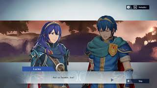 Fire Emblem Warriors - Lucina and Marth Support Conversation
