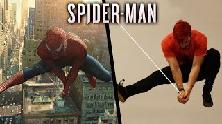 Stunts From Spiderman In Real Life (Spider-Man 2, Parkour)