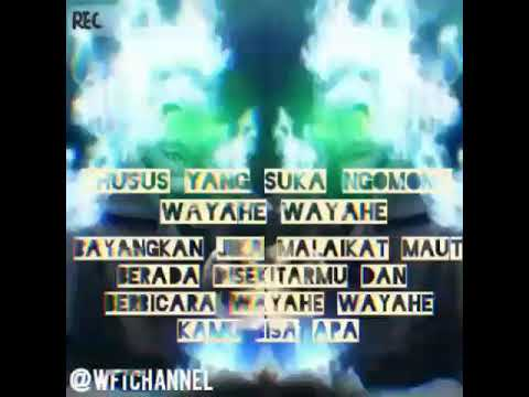 Wayahe Wayahe Malaikat Maut Lewat || Buat Story WA Atau IG