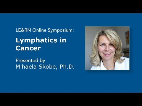 Lymphatics in Cancer - Mihaela Skobe, PhD - LE&RN Symposium