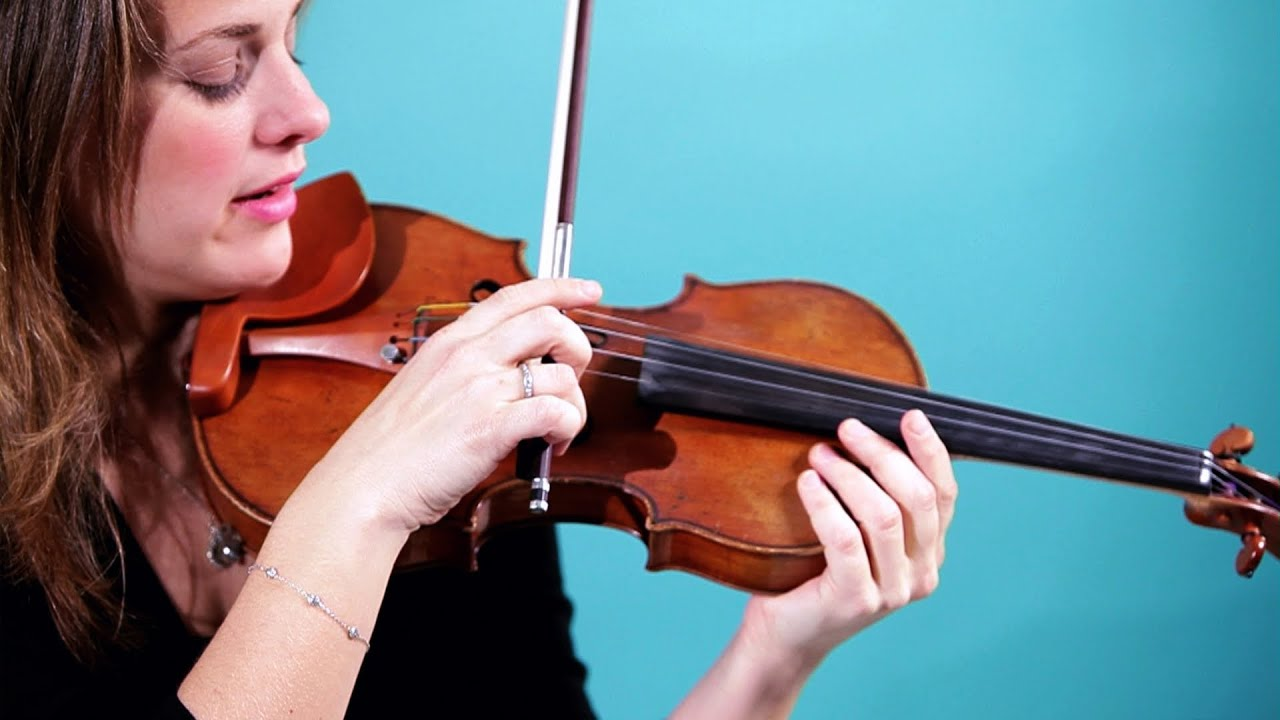 How to Place Bow for Bowing Open String | Violin Lessons