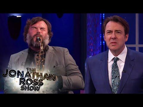 Jack Black's Terrible Saxophone Skills | The Jonathan Ross Show