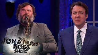 Jack Black's Terrible Saxophone Skills | The Jonathan Ross Show