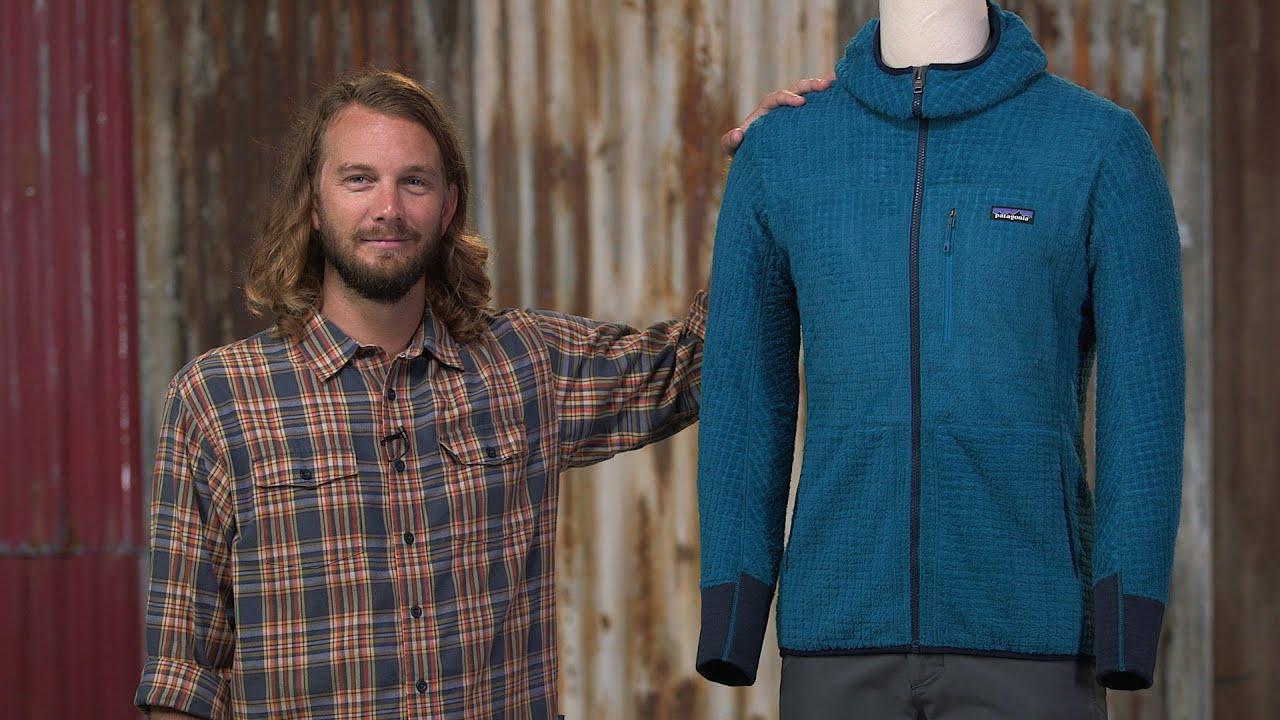 Patagonia r3 hooded fleece jacket men's