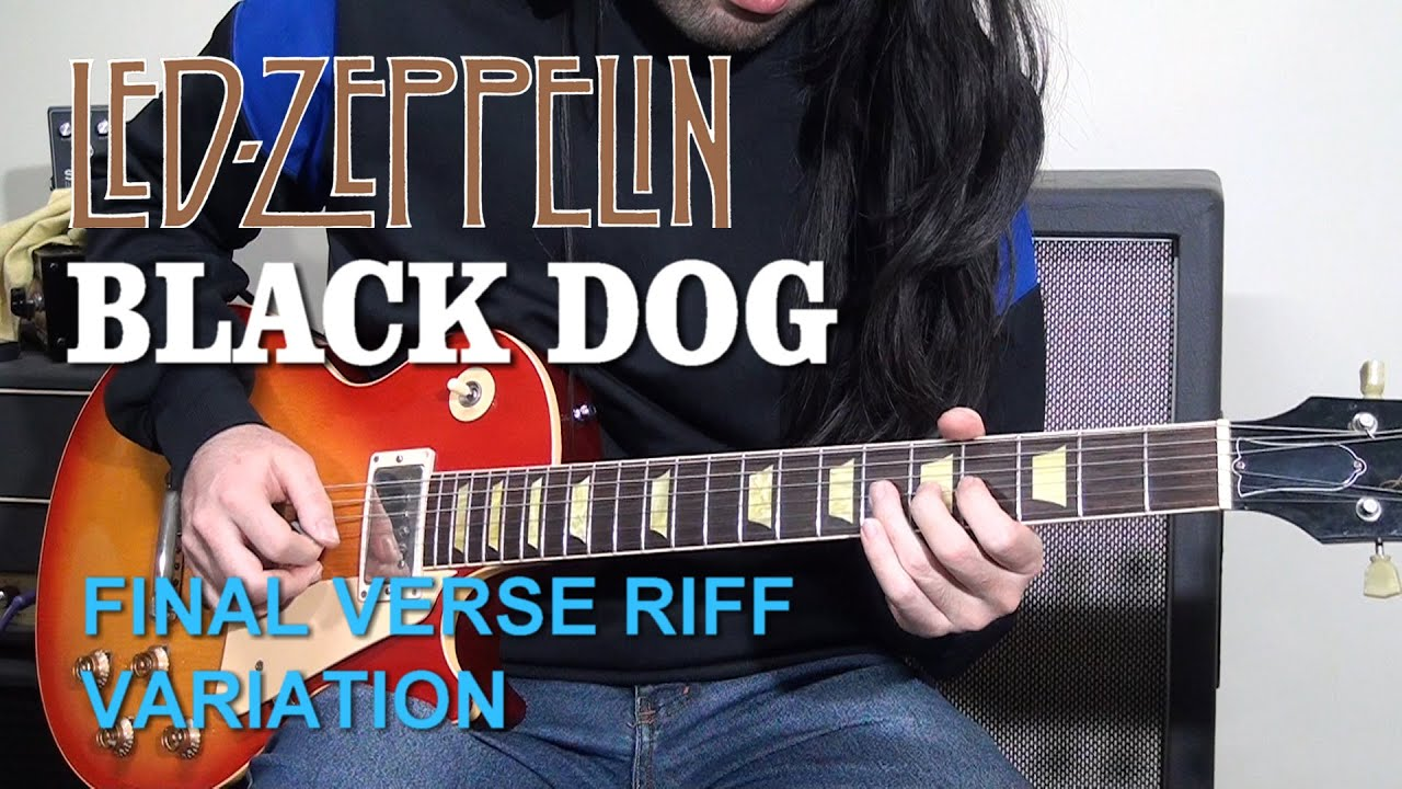 That Strange Riff Harmony From Black Dog | Led Zeppelin | Jimmy Page | Guitar Tutorial