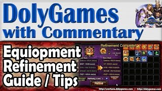 ➜ Wartune Guide Equipment Refinement Guide & Gameplay By Cosmos Dolygames
