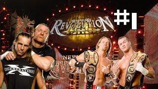 New Year's Revolution 2007 - Rated RKO VS D-Generation X - Campeonato en parejas (en español) #1