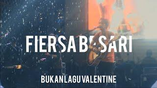 FIERSA BESARI - Bukan Lagu Valentine, live (Mandala Krida) Jogja
