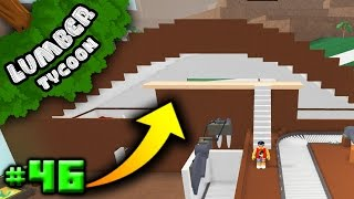Lumber Tycoon Ep. 46: Starting our BALCONY!! | Roblox