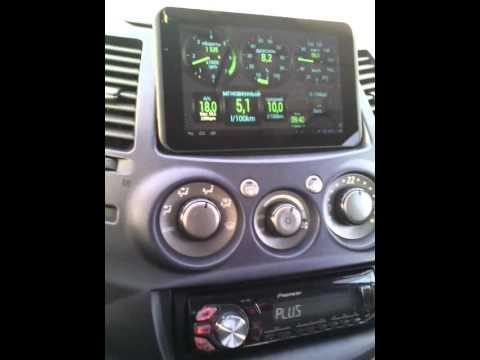 "Grandis / ELM327 Bluetooth / Torque /Планшет Oysters T34 Mini 7"""