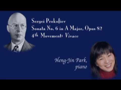 Sergei Prokofiev, Sonata in A Major, M4 ~ Heng-Jin Park, piano