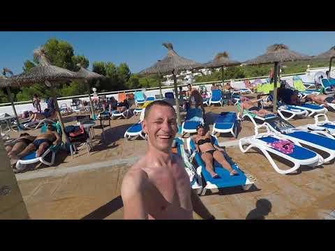CALAS DE MALLORCA AUG 2017 HOTEL GLOBALES SAMOA