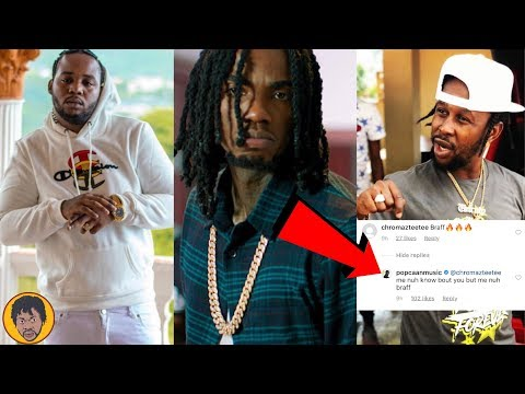Popcaan SEND A Very SERIOUS Message To Alkaline & Shade Teejay