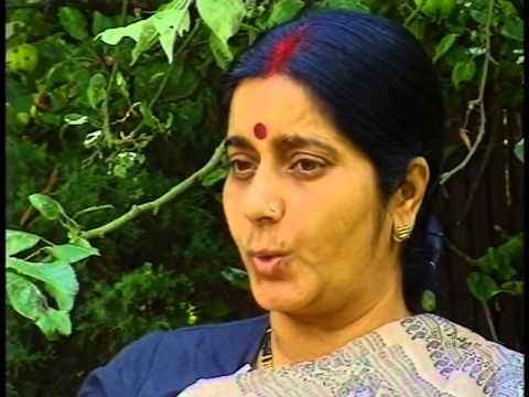 Interview Sushma Sawraj by Kavita # 1