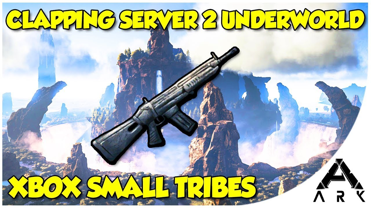 Ark PVP Server 2 | Wiping Teamers in Underworld | Xbox Small Tribes Trolling